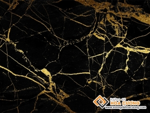 da marble cam thach black and gold